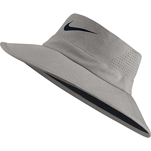 Nike Golf UV Sun Bucket Golf Hat 832687 (Small/Medium, Dark Grey Heather)