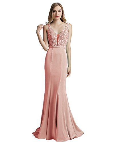 HSD188 Lx504 Belle House Gown Formal One Women's Prom Shoulder Evening blush Dresses zOv7UqO