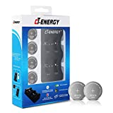 Rechargeable 2450 Batteries Charger with lir2450