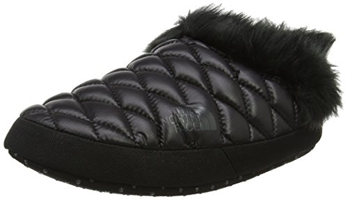 NORTH Beluga Iv Faux Fur Tnf Mules Femme Black FACE THE Noir Ywy Grey Shiny Thermoball Tent RXxdqRO