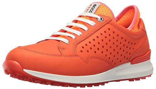 ECCO Women's Speed Hybrid Golf Shoe - Fire/Orange Neon - ...