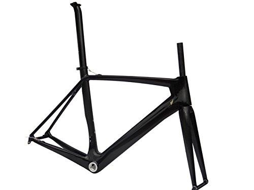 フルカーボン光沢700 CロードバイクサイクリングBSAフレームフォークシートポストクランプ50 cm   B00MX20XXW