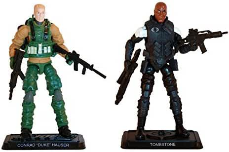 G.I. Joe, 50th Anniversary, Mission Accepted Action Figure Set (Duke vs Tombstone), 3.75 Inches by G. I. Joe