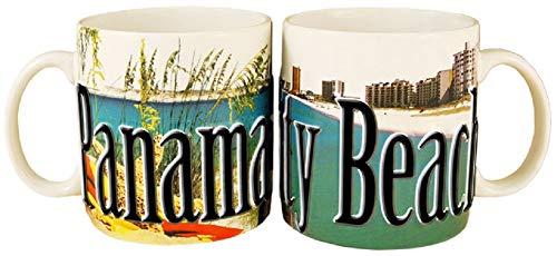 Americaware SMPCB01 Panama City Beach 18 oz Full Color Relief Mug