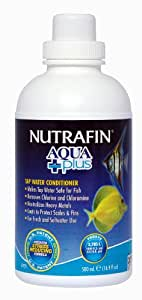 Nutrafin Aqua Plus Water Conditioner, 16.9-Ounce