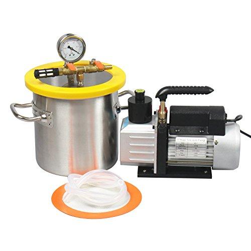 vacuum chamber 7cfm - 7