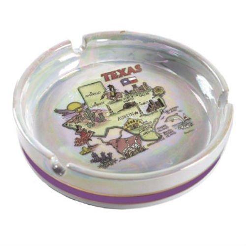 State Ashtray - World By Shotglass Texas State Porcelain Ashtray 5