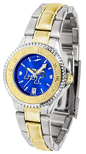 Middle Tenn. State Blue Raiders - Competitor Ladies Two - Tone - Raiders Executive Mens Watch