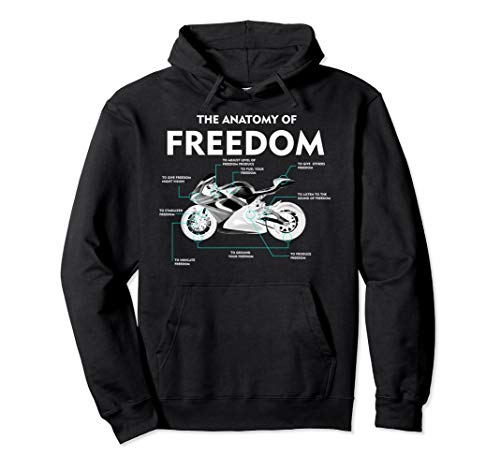 The Anatomy Of Freedom Hoodie | Cute Supermotos Hoodie Gift (Jacket Supermoto)