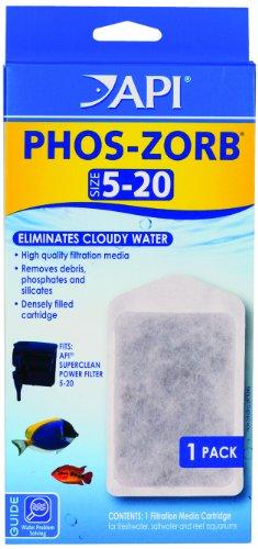 API 1-Pack Phos-Zorb Filter Cartridge, Size 5 to 20