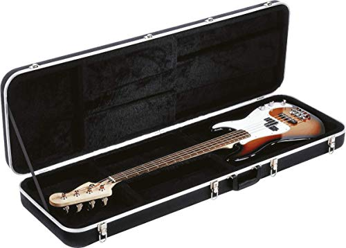 Gator Cases Deluxe ABS Molded Case for Bass Guitars; Fits Precision and Jazz Style Bass Guitars (GC-BASS)
