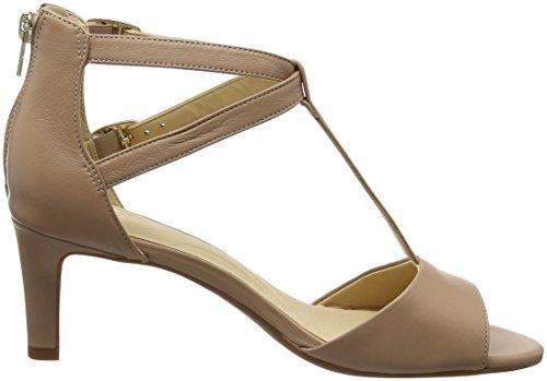 Laureti Femme Cheville Bride Pearl Clarks Beige Sandales Leather beige dwq7np