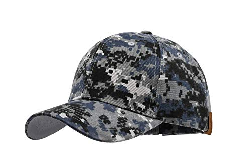 Military Camo Hat Hunting Adjustable for Men All Cotton Made Low Profile Classic ()