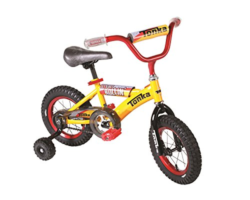Tonka Boys Dynacraft Bike, Yellow, 12""