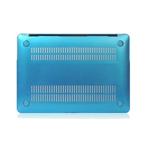 YiJee Funda Rígida para Macbook Pro Retina 11.6 -15.4 Pulgadas Protector de Plástico Protector Shell para el Portátil Mac Book 13.3pro Inch Azul