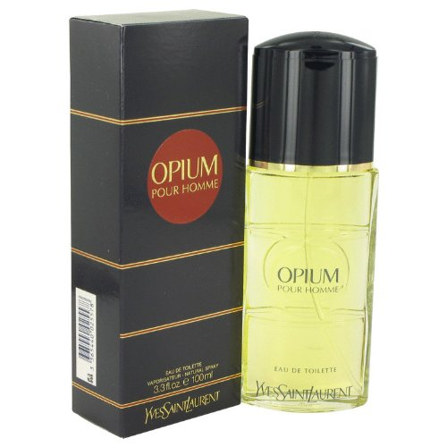 Opium Ginger Eau De Toilette - Opium By Yves Saint Laurent Men's Eau De Toilette Spray 3.3 Oz - 100% Authentic