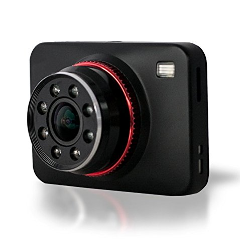 Lian LifeStyle Latest Technology HD Dash Camera Trusted Quality Car Accessories: Security Camera Front & Rear with Night Vision for Safety SD LY1000