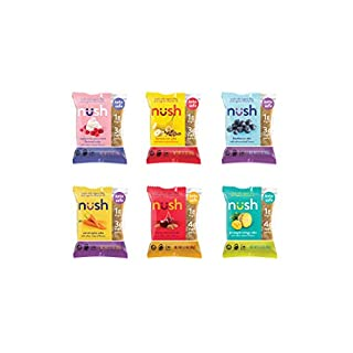 Keto Snack Cakes by Nush - Mixed Flavor Case (6 Cakes) - Gluten Free and Diabetic Friendly - Great for Paleo Diets