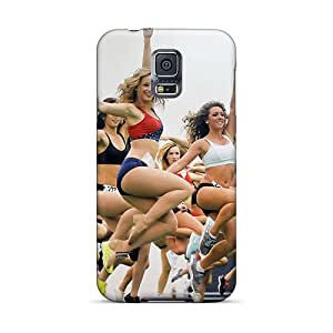 New New England Patriots Cheerleaderswimsuit Tpu Case Cover, Anti-scratch FCKLocation Phone Case For Galaxy S5