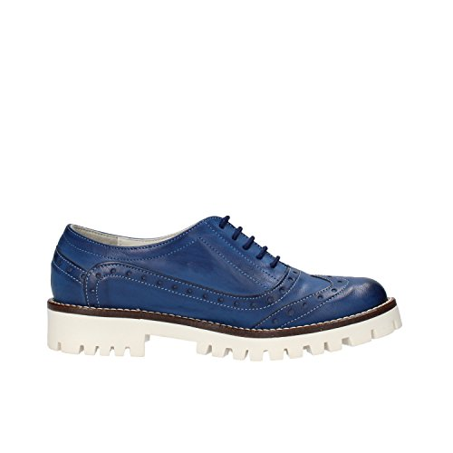 Elegantes Azul Cuero EU OLGA Zapatos AF117 RUBINI 37 Mujer AnwAIEU