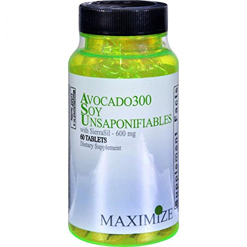 Avocado300 Soy Unsaponifiables 60 Tablets by Maximum International