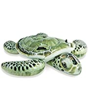 Inflatable Float Platoon Realistic Sea Turtle Inflatable Float,Summer Seasonal Swimming Inflatable Boat Turtle Fishing Water Float Toys