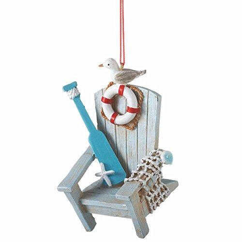 Midwest Gloves Coastal Adirondack Chair Ornament