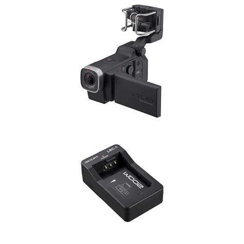 Zoom Q8 Handy Video Recorder with Zoom LBC-1 Battery Charger