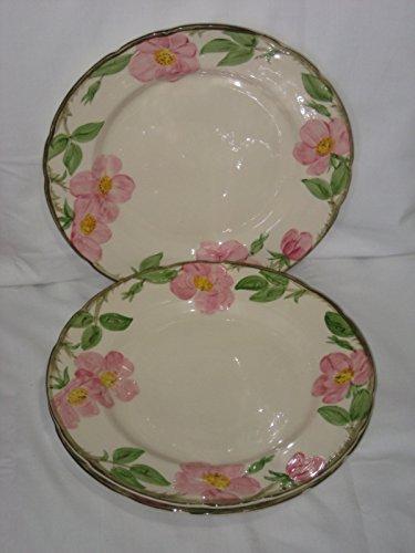 Franciscan Desert Rose Earthenware Rimmed 10 Inch Dinner Plate (Franciscan Franciscan Desert Rose)