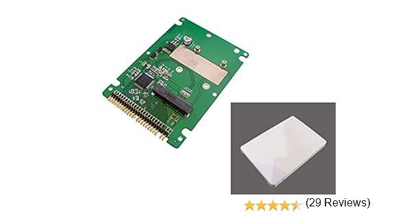 Kalea-Informatique – Caja adaptador mSATA a IDE 44 (IDE de 6,35 cm o 2,5 pulgadas), dimensiones exactas a las de un disco IDE normal: Amazon.es: Informática