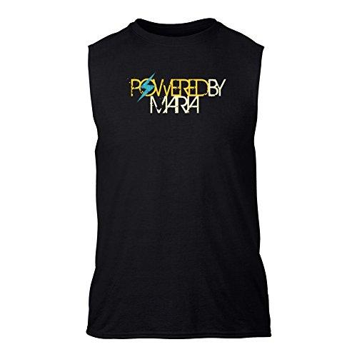 Powered by Maria T-Shirt senza maniche