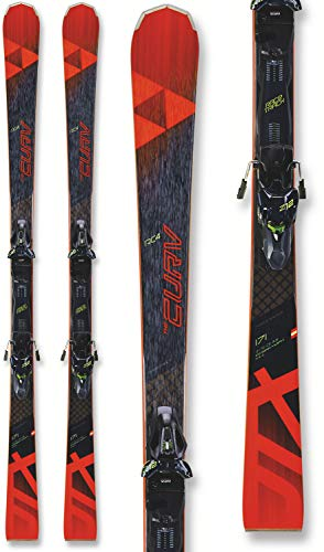 Fischer RC4 The Curv DTX Skis w/ RC4 Z12 GW Powerrail Bindings Mens Sz...