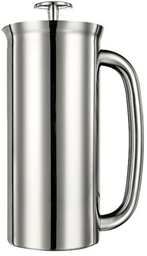 Espro Coffee Press P7-32 oz Double Wall Vacuum Insulated Polished Stainless Steel Coffee Press, FFP
