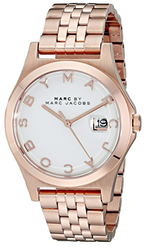 Marc by Marc Jacobs Women's MBM3392 Rose Gold-Tone Bracelet Watch