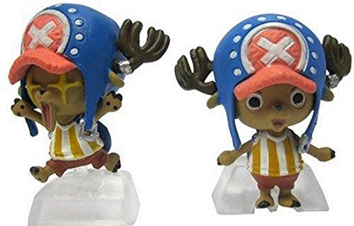 One Piece: Straw Hat Pirates Chozokei Damashii New World Arc Trading Figures WIth Base ~1.5