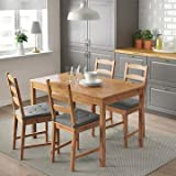 Ikea Table and 4 Chairs Solid Pine Wood