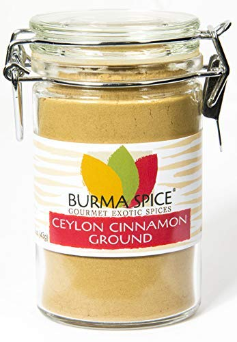 Ground Ceylon Cinnamon | Very freshly ground | Highest Premium Grade | 100% Pure with no additives | Kosher Certified (1.5oz) by Burma Spice (Image #8)