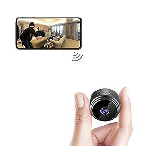Flashandfocus.com 411B4H3L5oL._SS300_ AREBI Spy Camera Wireless Hidden WiFi Mini Camera HD 1080P Portable Home Security Cameras Covert Nanny Cam Small Indoor…