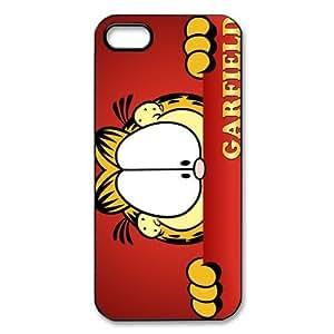 Garfield - cubierta mkCase estilo personalizado dibujos animados de plástico (cáscara dura) Funda para el iPhone 5 5S?