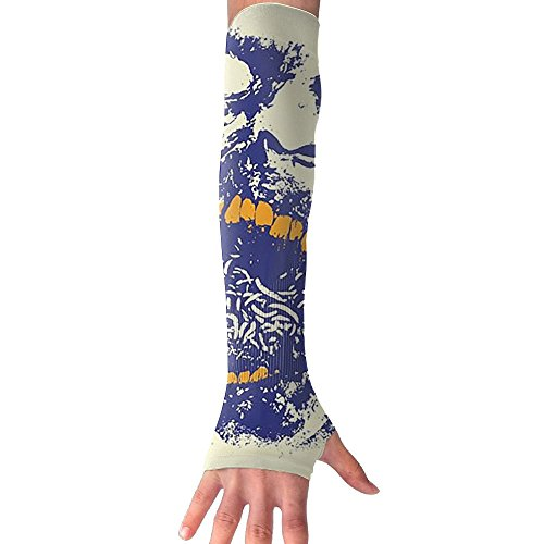 Halloween Vector Zombie Face Outdoor Sports Bike Cycling Hiking Arm Sleeve Arm Warmer Arm Protector Barcer Shooting UV Protection Sun Protection (Halloween Zombies Vector)