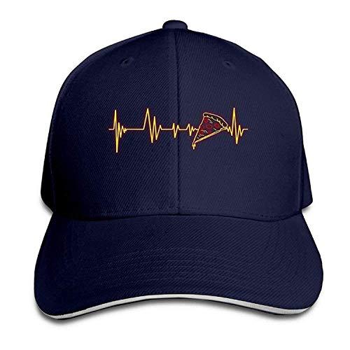 1b726380b51bd T.Brent Baseball Caps Heartbeat Pizza Unisex Snapbacks Cap Vintage Trucker  Cap
