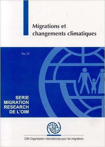 Livres gratuits Migrations Et Changements Climatiques pdf, epub