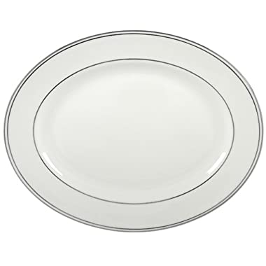 Lenox Federal Platinum 13-Inch Bone China Oval Platter