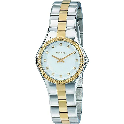 BREIL Watch Curvy Female Only Time with Crystals - TW1732