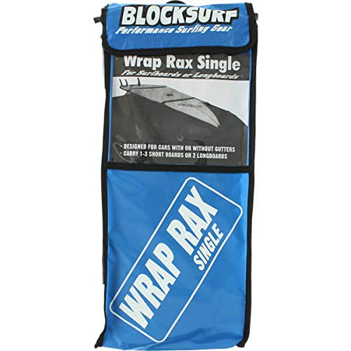 (Blocksurf Wrap Rax Single Surfboard Rack)