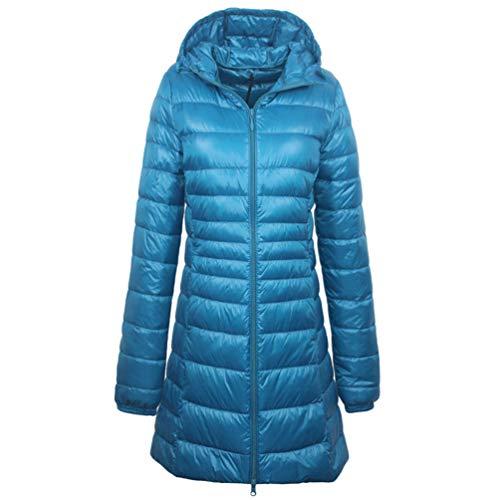 ZhuiKun Womens Ultralight Short Down Jacket Packable Slim Puffer Bubble Hooded Coat