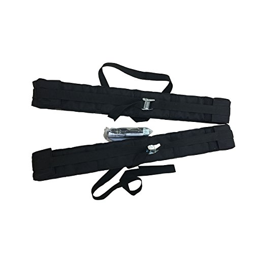 Liker soft roof rack with air inflation made with PVC and 420D Nylon for hold kayak/canoe/boat