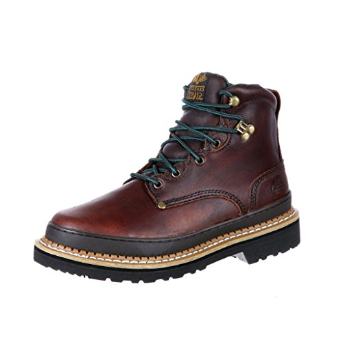 "Georgia Boot Men's G6274 Georgia Giant 6"" Boot Soggy Brown L"