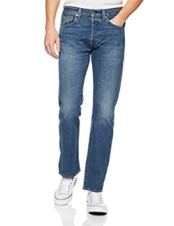 Levi's Men's 501 Original Jeans, Fit Bleu Eyes, 29 32