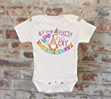 It's My Party And Owl Cry If I Want To Onesie®/T-Shirt, Funny Onesie, Cute Onesie, Birthday Onesie, Cute Baby Bodysuit, Boho Baby